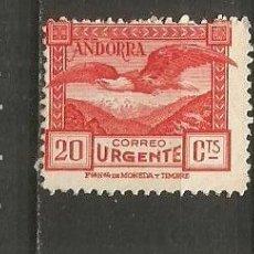 Sellos: ANDORRA EDIFIL NUM. 27 NUEVO SIN GOMA. Lote 222662316