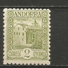 Sellos: ANDORRA EDIFIL NUM. 15D ** NUEVO SIN FIJASELLOS. Lote 222662382