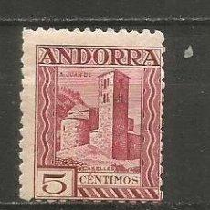 Sellos: ANDORRA EDIFIL NUM. 16D * NUEVO CON FIJASELLOS. Lote 222662475