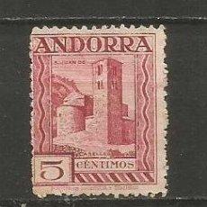 Sellos: ANDORRA EDIFIL NUM. 16D NUEVO SIN GOMA. Lote 222662517