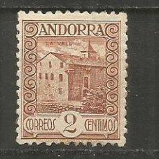 Sellos: ANDORRA EDIFIL NUM. 28 * NUEVO CON FIJASELLOS. Lote 222662826