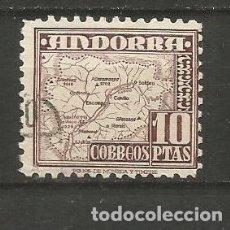 Sellos: ANDORRA EDIFIL NUM. 57 USADO. Lote 222663021