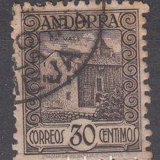 Sellos: ANDORRA ESPAÑOLA - 1929 NUM 21D USADO - 30 CENT. DENTADO 11,5. Lote 223604377