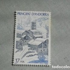 Sellos: ANDORRA - TURISMO - 1 SELLO NUEVO - 1985 - SERIE COMPLETA. Lote 225192005