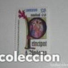 Sellos: ANDORRA EDIFIL 239*** - AÑO 1993 - NAVIDAD - MISAL DEL OBISPO GALCERAN DE VILANOVA. Lote 225192540
