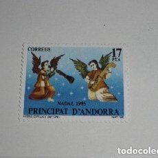 Sellos: ANDORRA EDIFIL Nº 189, NAVIDAD 1985, NUEVO. Lote 225194778