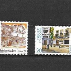 Selos: ANDORRA, ADMINISTRACIÓN ESPAÑOLA, 1990, EDIFIL 218-219 Y 221-222. Lote 228005520