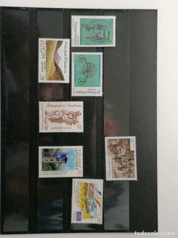 Sellos: ANDORRA España Año 1999 Completo Nuevo *** - Foto 2 - 244535485