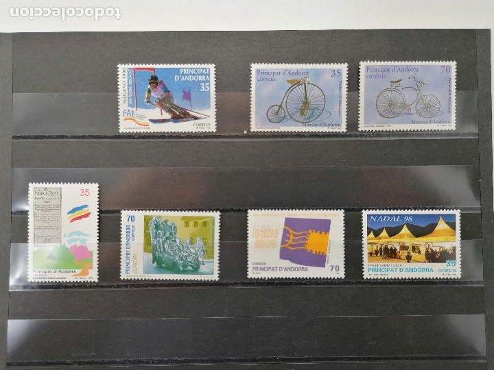 ANDORRA ESPAÑA AÑO 1998 COMPLETO NUEVO *** (Sellos - España - Dependencias Postales - Andorra Española)