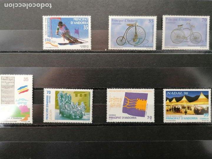 Sellos: ANDORRA España Año 1998 Completo Nuevo *** - Foto 2 - 244535940
