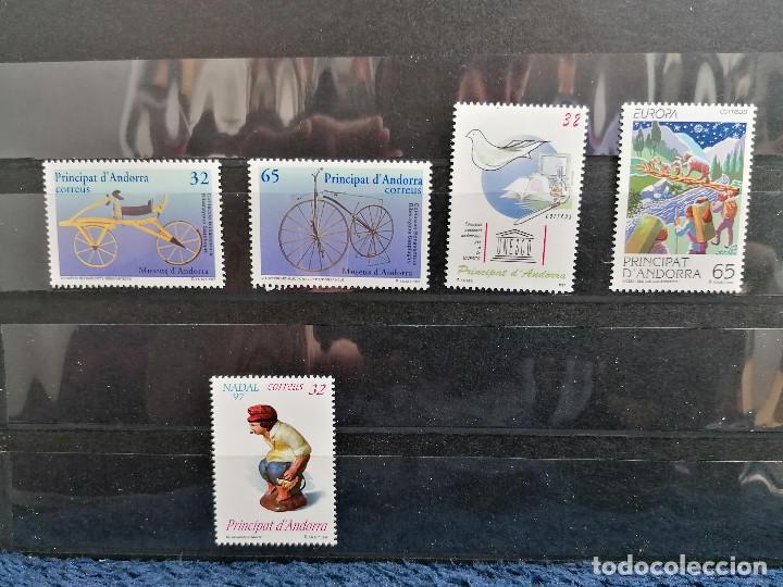 ANDORRA ESPAÑA AÑO 1997 COMPLETO NUEVO *** (Sellos - España - Dependencias Postales - Andorra Española)