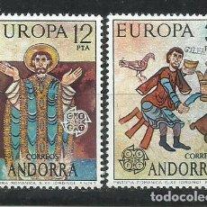 Sellos: 289C-ANDORRA ESPAÑOLA 1975 Nº 97/8 SERIE COMPLETA TEMA EUROPA MNH** NUEVOS.COLONIAS ESPAÑA,. Lote 233020430