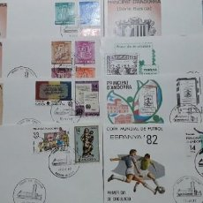 Timbres: SELLOS ESPAÑA OFERTA SPD ANDORRA AÑO 1982 COMPLETO. Lote 235477520