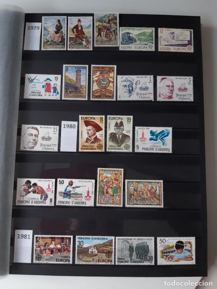 GRAN COLECCION DE SELLOS DE ANDORRA 1979-2020 (42 AÑOS). NUEVOS. (Sellos - España - Dependencias Postales - Andorra Española)