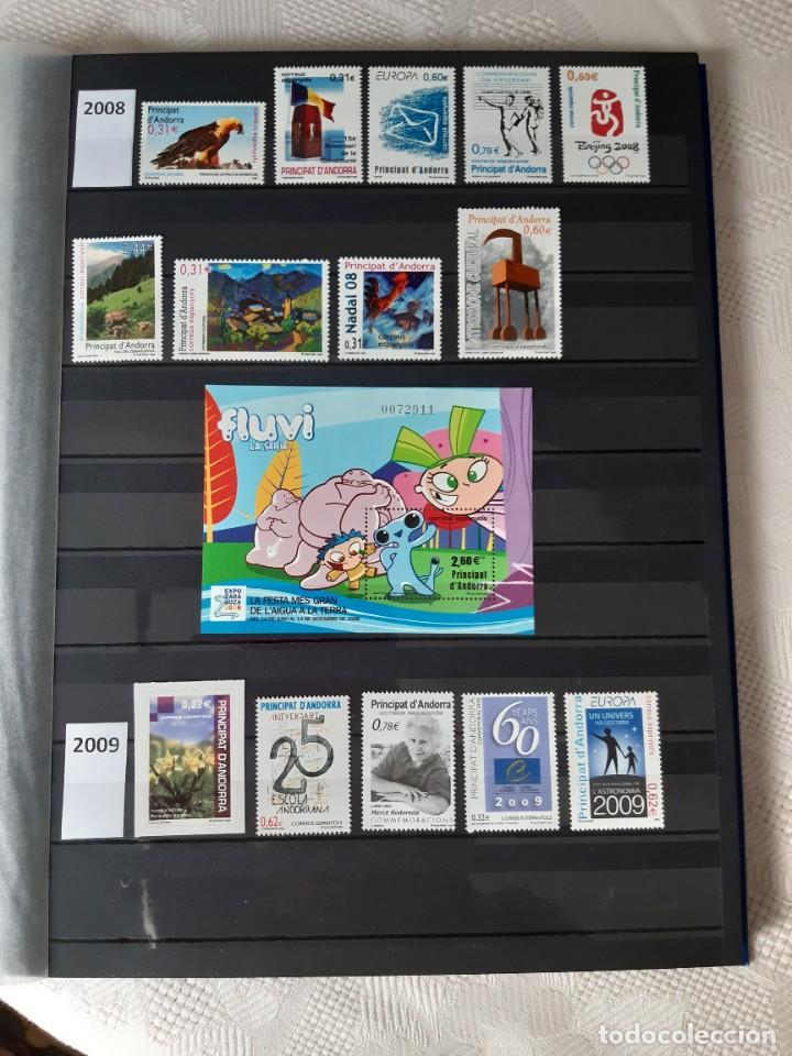 Sellos: GRAN COLECCION DE SELLOS DE ANDORRA 1979-2020 (42 AÑOS). NUEVOS. - Foto 4 - 236202540