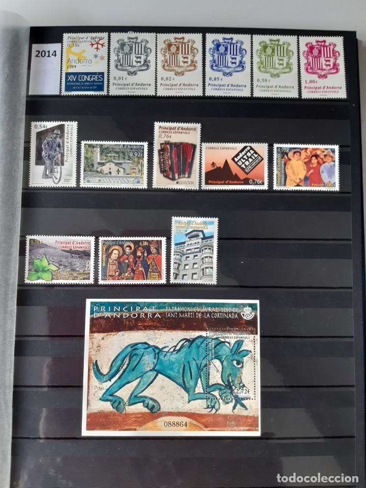 Sellos: GRAN COLECCION DE SELLOS DE ANDORRA 1979-2020 (42 AÑOS). NUEVOS. - Foto 5 - 236202540