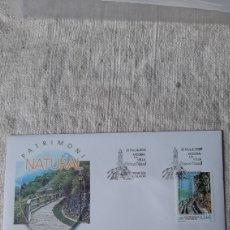 Sellos: ANDORRA ESPAÑOLA EDIFIL 284 SFC A 1 2001 PATRIMONIO NATURAL REGADÍO SOLANA Y DE UMBRÍA. Lote 236888585