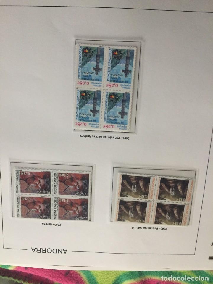 Sellos: ANDORRA ESPAÑOLA AÑO 2005 COMPLETO EN BLOQUE DE 4 NUEVOS LOS DE LAS FOTOS. VER TODOS MIS SELLOS - Foto 2 - 239376210