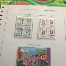 Sellos: ANDORRA ESPAÑOLA AÑO 2008 COMPLETO EN BLOQUE DE 4 NUEVOS LOS DE LAS FOTOS. VER TODOS MIS SELLOS. Lote 239378755