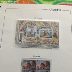 Sellos: ANDORRA ESPAÑOLA AÑO 2010 COMPLETO EN BLOQUE DE 4 NUEVOS LOS DE LAS FOTOS. VER TODOS MIS SELLOS. Lote 239379805