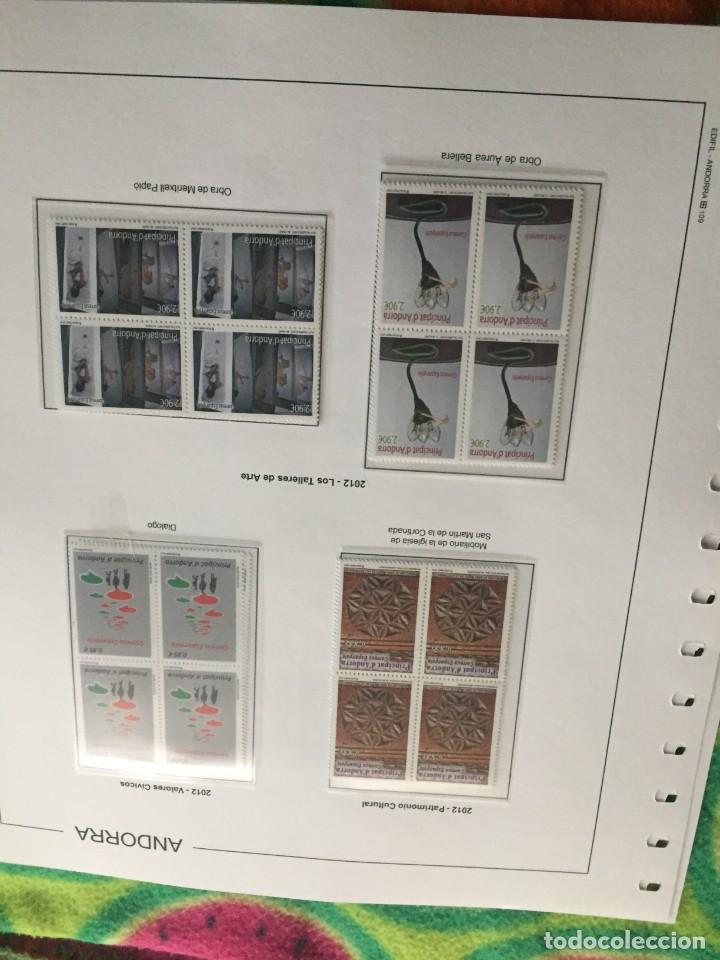 Sellos: ANDORRA ESPAÑOLA AÑO 2012 COMPLETO EN BLOQUE DE 4 NUEVOS LOS DE LAS FOTOS. VER TODOS MIS SELLOS - Foto 2 - 239381810