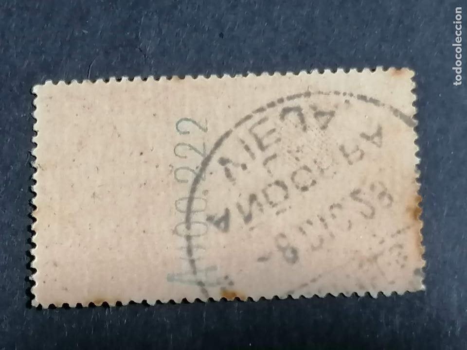 Sellos: España Andorra Edifil 13 con cifras control Matasellos conmemorativo 8 -12-1928 centraje de Lujo - Foto 2 - 239464820