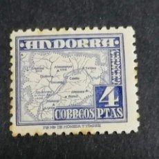 Sellos: ESPAÑA ANDORRA EDIFIL 56 NUEVO CON MANCHAS HUMEDAD. Lote 239465230