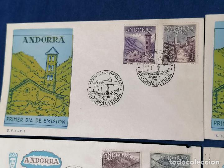 Sellos: Andorra España sellos serie Edifil 60/67 año 1963 - Foto 4 - 240361430