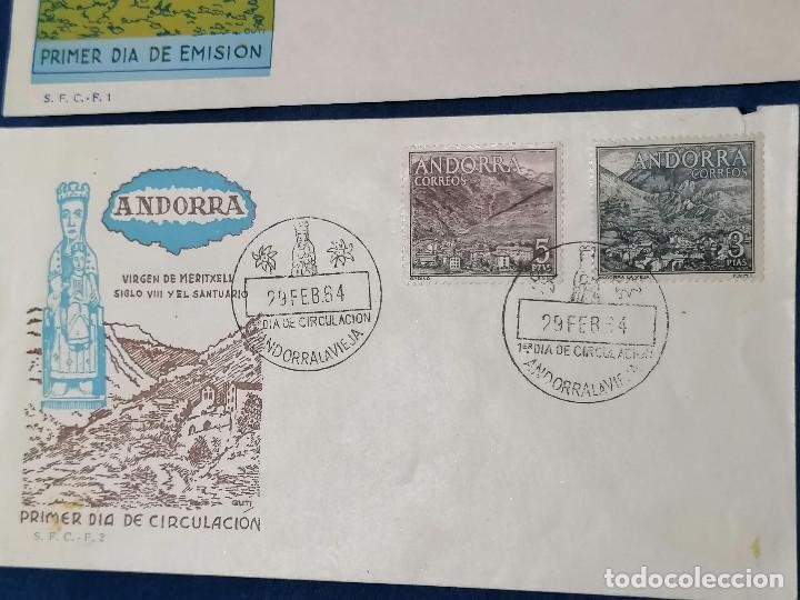 Sellos: Andorra España sellos serie Edifil 60/67 año 1963 - Foto 5 - 240361430