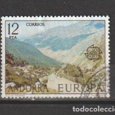 Sellos: ANDORRA ESPAÑOLA. Nº 109. AÑO 1977. EUROPA. USADO.. Lote 241456675