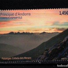 Sellos: ANDORRA 501** - AÑO 2020 - PAISAJES. Lote 244559895