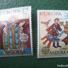 Sellos: +ANDORRA, 1975, EUROPA, EDIFIL 97/8. Lote 244909260