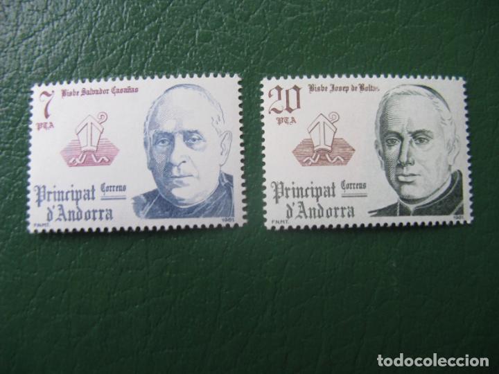 +ANDORRA, 1981, COPRINCIPES EPISCOPALES, EDIFIL 146/47 (Sellos - España - Dependencias Postales - Andorra Española)