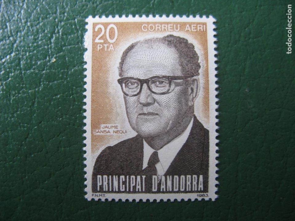 +ANDORRA, 1983, JAIME SANSA NEGUI, EDIFIL 173 (Sellos - España - Dependencias Postales - Andorra Española)