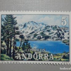 Sellos: SELLO - ANDORRA CORREO ESPAÑOL - EDIFIL 76 - 1972 - 5 PTAS - PAISAJES. Lote 244954470