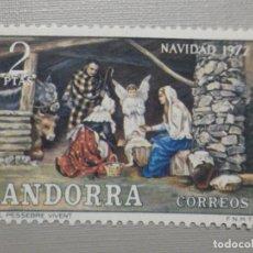 Sellos: SELLO - ANDORRA CORREO ESPAÑOL - EDIFIL 79 - 1972 - 5 PTAS - NAVIDAD. Lote 244954485