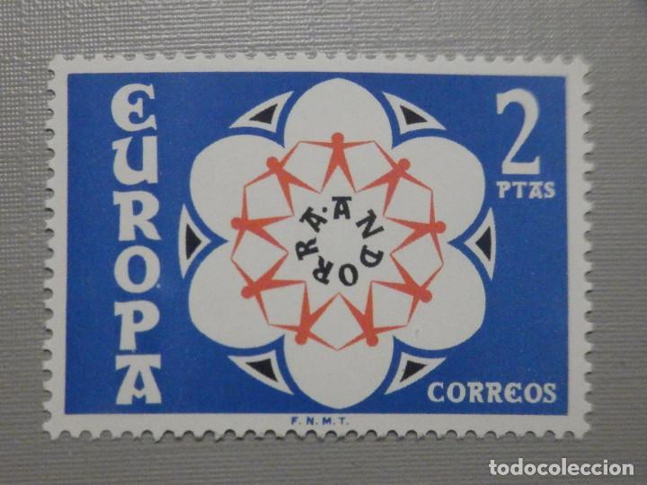SELLO - ANDORRA CORREO ESPAÑOL - EDIFIL 85 - 1973 - 2 PTAS - EUROPA (Sellos - España - Dependencias Postales - Andorra Española)