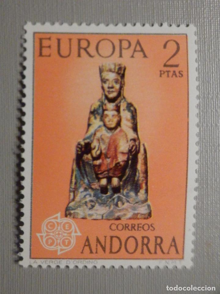 SELLO - ANDORRA CORREO ESPAÑOL - EDIFIL 89 - 1974 - 2 PTAS - EUROPA (Sellos - España - Dependencias Postales - Andorra Española)