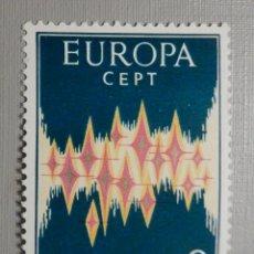 Sellos: SELLO - ANDORRA CORREO ESPAÑOL - EDIFIL 72 - 1972 - 8 PTAS - EUROPA - CEPT. Lote 244954530