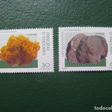 Sellos: +ANDORRA, 1996, NATURALEZA, EDIFIL 251/2. Lote 245002255