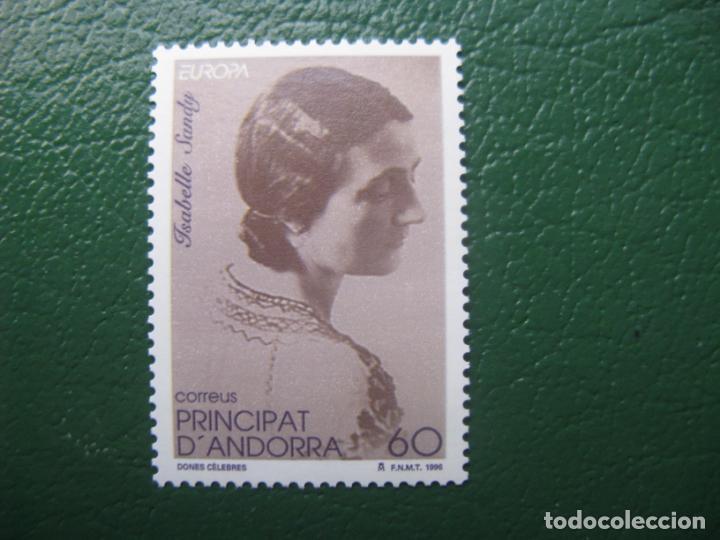 +ANDORRA, 1996,EUROPA, ISABELLE SANDY, EDIFIL 253 (Sellos - España - Dependencias Postales - Andorra Española)