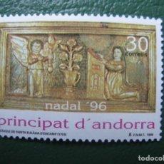 Sellos: +ANDORRA, 1996, NAVIDAD, EDIFIL 255. Lote 245003115