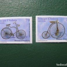 Sellos: +ANDORRA, 1998, MUSEOS DE ANDORRA, EDIFIL262/3. Lote 245004280