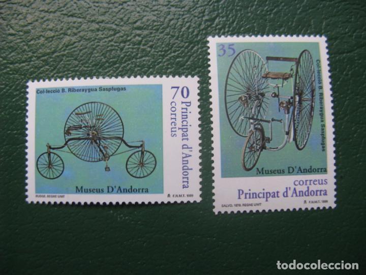 +ANDORRA, 1999, MUSEOS DE ANDORRA, EDIFIL 268/9 (Sellos - España - Dependencias Postales - Andorra Española)