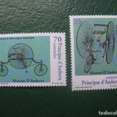 Sellos: +ANDORRA, 1999, MUSEOS DE ANDORRA, EDIFIL 268/9. Lote 245017310