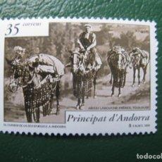 Sellos: +ANDORRA, 1999, HISTORIA POSTAL, EDIFIL 270. Lote 245017540