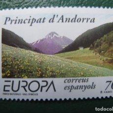 Sellos: +ANDORRA, 1999, EUROPA, RESERVAS Y PARQUES NATURALES, EDIFIL 272. Lote 245017835