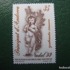 Sellos: +ANDORRA, 1999, NAVIDAD, EDIFIL 274. Lote 245017955