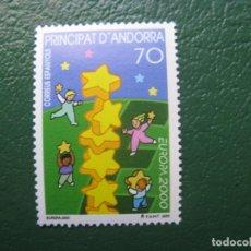Sellos: +ANDORRA, 2000, EUROPA, EDIFIL 276. Lote 245018195