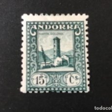 Francobolli: ANDORRA ESPAÑOLA 1935 EDIFIL 32* MLH. Lote 247087990